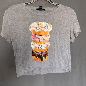 Donut crop top